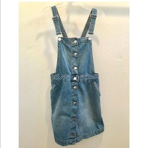 H&M Jean Overall Dress